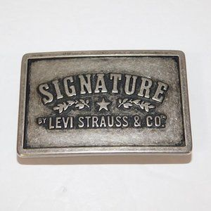 Signature by Levi Strauss & Co Belt Buckle